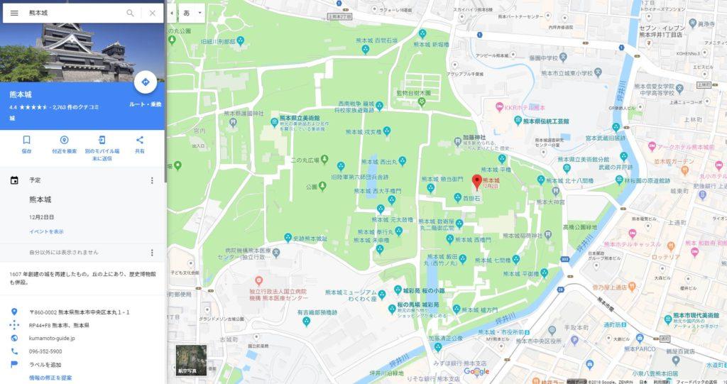 地図が表示